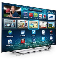 Interactive Smart TV with Face Recognition –Samsung Smart TV Samsung Smart Tv, Samsung Tvs, Samsung Galaxy, Samsung Mobile, Technology Gadgets, New Technology, Apps, Tv 40, Set Top Box