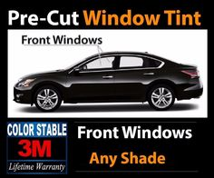 PRECUT WINDOW TINT W// 3M COLOR STABLE FOR CHEVY 1500 STD 99-06