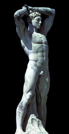 Statue of an Athlete. Stadio dei Marmi. Rome.http://hadrian6.tumblr.com