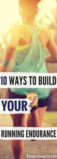 If you are looking for some of the best ways and strategies to help you boost your running stamina, then you're in the right place. http://www.runnersblueprint.com/ways-to-build-your-running-endurance-and-stamina/ #Fitness #Running #Endurance #Stamina