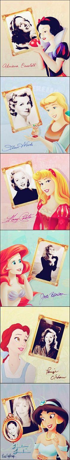 Disney Princess Voice Cast
