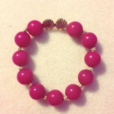 Pink jade with seashells (Sabrina Jade)