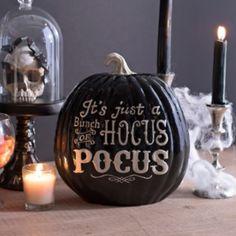 kirklands http://www.kirklands.com/product/Seasonal-Gifts/Halloween/Halloween-Decorations/Hocus-Pocus-Pumpkin/pc/2289/c/2405/sc/3032/214522.uts