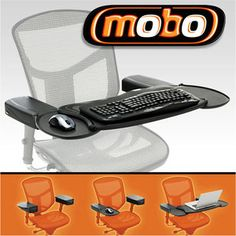 Ergoguys Mobo Chair Mount Keyboard and Mouse Tray System & 9 best Computer images on Pinterest | Computer keyboard Serving ...