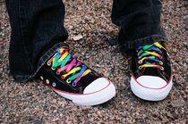 Rainbow Sneakers 18€