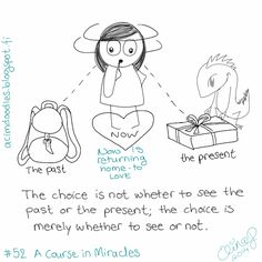 ACIM-doodles: I Can See Only What is Now