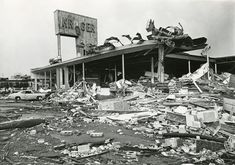 Kroger Grocery Store after 1974 Tornado, Xenia