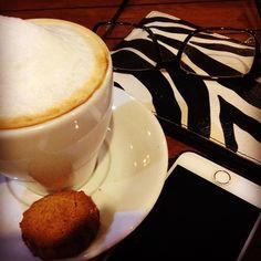 Iftar sonrasi cappuccino @hubblebubble , olmazsa olmaz...