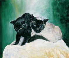 Herbert Brandl, 2001 Friends, Cats, Artwork, Animals, Shop Signs, Art, Gatos, Animales, Amigos