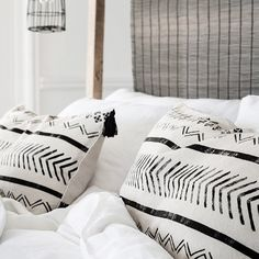 These tribal print cushions are so dreamy!  Can't wait to start putting my own spin on such a gorge style! #watchthisspace