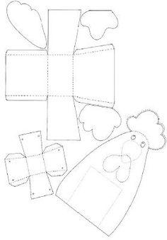 """""""Ταξίδι στη Χώρα...των Παιδιών!"""": Ας φτιάξουμε πασχαλινά καλαθάκια! Easter Crafts, Christmas Crafts, Crafts For Kids, Easter Ideas, Paper Box Template, Easter Printables, Colouring Pages, Easter Baskets, Painting & Drawing"""