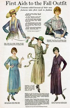 Fashion - Oct 1917 | Flickr - Photo Sharing!