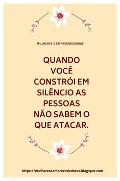 Quando vc constrói em silêncio... Truth Quotes, Wisdom Quotes, Words Quotes, Life Quotes, Sayings, Beauty Quotes, Instagram Story, Favorite Quotes, Texts