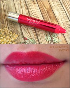 """Revlon ColorBurst Matte Balm in """"Unapologetic"""" - first bright lipstick in many years. Revlon Matte Balm, Revlon Colorburst Matte Balm, Revlon Lip Butter, Nyx, Summer Lipstick, Bright Lipstick, Lipstick Pencil, Matte Lipstick, Candy Makeup"""
