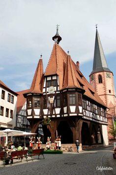 Michelstadt Rathaus (City Hall), Hesse, Germany - California Globetrotter
