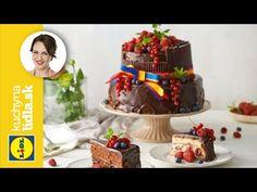 Narodeninová torta   Adriana Poláková   Kuchyna Lidla - YouTube Lidl, Sweet Tooth, Birthday Cake, Recipes, Youtube, Food, Birthday Cakes, Recipies, Essen
