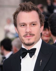 Heath Ledger: Sad that he is no longer alive. Next to Jack Nicholson, he played The Joker in Dark Knight very well.