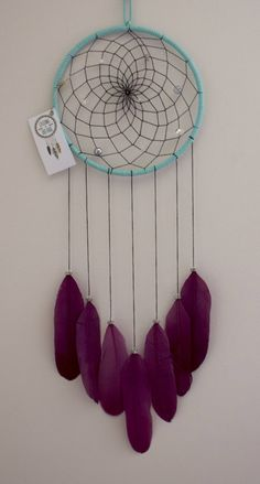 A personal favorite from my Etsy shop https://www.etsy.com/ca/listing/535827341/7-dream-catcher