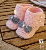 Crochet Baby botties