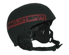 Maelstorm AQUA WAVE Kitesurfing Helmet Matte Black Size S for Watesports Kiteboarding Windsurfing Waterskiing Jet Skiing SUP Kayaking Canoeing Paddling Boating -- Check out this great product.Note:It is affiliate link to Amazon.