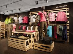 #RetailDesign #ShopInShop #Wood #Sustainable