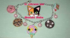 "bracciale ""dolcioso"" kawaii handmade #polymerclay #kawaii"