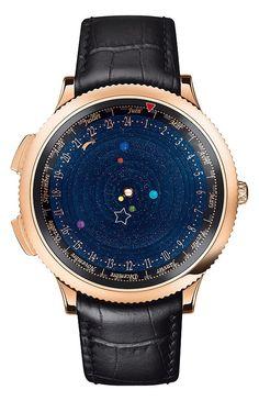 8d88bbe3ac7 Conheça o relógio de pulso que reproduz em tempo real os movimentos do  Sistema Solar