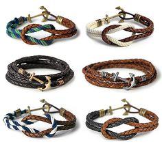 Guy Style Guide - leather bracelets