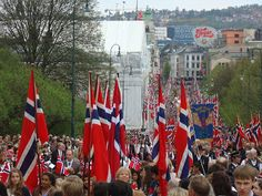 17 Maja - Święto Narodowe w Norwegii / 17th May - national holiday in Norway