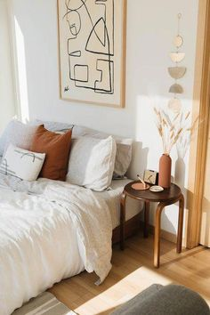 W&D Studio Apartment Society: Emily Eaton's Sanctuary - Wit & Delight | Designing a Life Well-Lived #ideasforbedroomdecorating