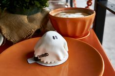 DTLA's Newest French Gem: Pitchoun! - The Visualante halloween ghost pastry dessert