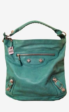 Balenciaga Blue Shoulder Bag, wanneer ben ik ook alweer jarig?? ;-)