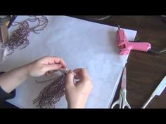 How to make Beaded Tassel Tutorial - YouTube