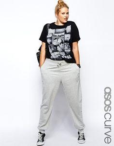b0538889e6f Enlarge ASOS CURVE Sweat Pant Curvy Women Fashion