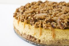 Spiced pumpkin cheesecake. Can you tell I'm ready for autumn with all these pumpkin recipes?