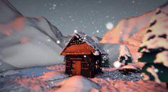 Cinema 4D R13 - Creating a Winter Scene Tutorial