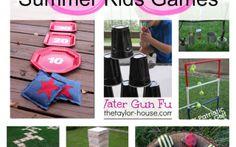 DIY Outdoor Games For Kids - Princess Pinky Girl - Princess Pinky Girl // Powered by chloédigital