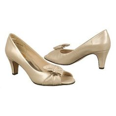 Ros Hommerson Charlize Shoes (Silver Press) - Women's Shoes - 8.0 W
