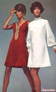 """Платье взято из 60-70 х годов.  За основу взяли это платье, белое. Только воротник """"стоечка"""" изменили на вырез горловины """"лодочку"""".  Девушка достаточно крупная, но получилось очень даже хорошо."""