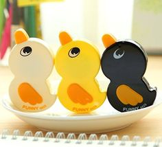 Ipienlee Correction Tape White Out Tape Cute Duck Shape f... https://www.amazon.com/dp/B076GXXH7Z/ref=cm_sw_r_pi_dp_U_x_ec7XAbZ8WFZKP
