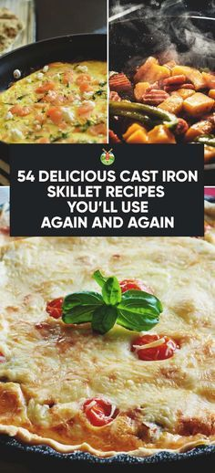 If you aren't aware of all the delicious meals you can make with a skillet, here is a bunch of scrumptious cast iron skillet recipes that will astound you.