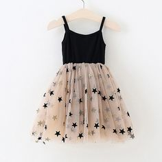 Twinkle Stars Mesh Tulle Black Dress from kidspetite.com! Adorable & affordable baby, toddler & kids clothing. Shop from one of the best providers of children apparel at Kids Petite. FREE Worldwide Shipping to over 230+ countries ✈️ www.kidspetite.com #dresses #girl #clothing #toddler