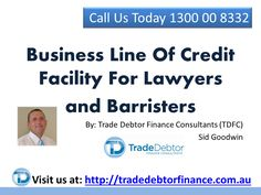 Call TDFC Today On 1300 00 8332 For Your Free Consultation & Quote  http://www.tradedebtorfinance.com.au/services.html