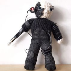 Amigurumi Locutus from Star Trek The Next Generation - Free Pattern