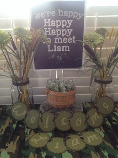 Duck dynasty theme baby shower