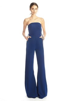 Misha Nonoo Clothing Blue Jumpsuit
