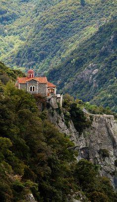 monastery.. Stemnitsa, Arcadia, Greece | Flickr - Photo by Macaroons