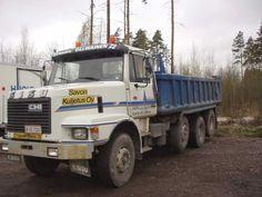 SISU SL 250 of Finland Dump Trucks, Finland, Denmark, Norway, Classic Trucks, Dump Trailers, Garbage Truck