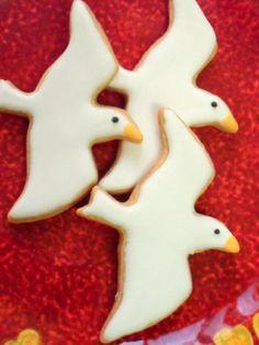 Seagull custom sugar cookies