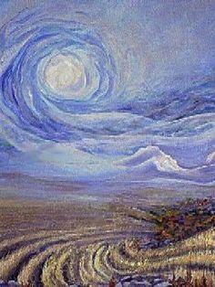 Autore: Vincent Van Gogh Nome: La vita Data: 1890 Tecnica: Olio su tela Luogo: Van Gogh Museum Descrizione: Violaceo delle zolle e composizione centrale tipica dei simbolisti: il sole non e' solo un sole.